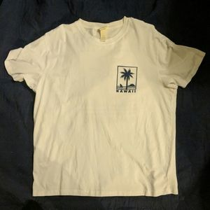 White Hawaii tee
